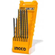 Набор пильных полотен для лобзика 8 шт. INGCO AKD8088