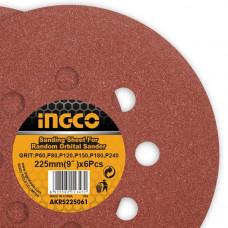 Шлифовальный круг INGCO AKRS225061