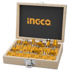 Набор фрез 8 мм, 12 шт. INGCO AKRT1211