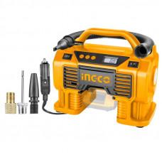 Аккумуляторный автомобильный компрессор 20 В INGCO CACLI2002
