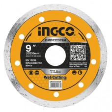 Диск алмазный отрезной 230 мм INGCO DMD022302M