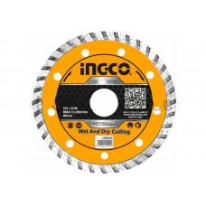 Диск алмазный турбо 125 мм INGCO DMD031251 INDUSTRIAL