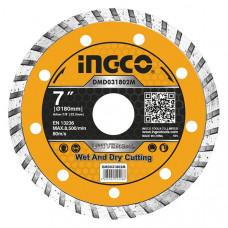 Диск алмазный отрезной 180 мм INGCO DMD031802M