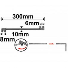 Струбцина для гибки арматуры 300 мм INGCO HBB06081