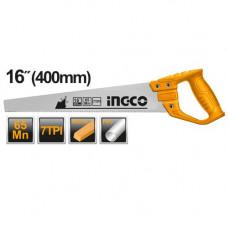 Ножовка по дереву 400 мм INGCO HHAS48400
