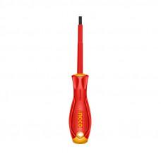 Отвертка диэлектрическая SL3x75 мм INGCO HISD813075 INDUSTRIAL