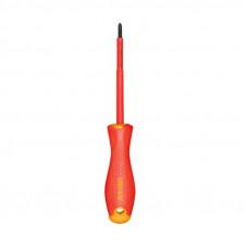 Отвертка диэлектрическая  PH0x60 мм INGCO HISD81PH060 INDUSTRIAL