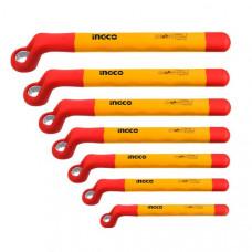Набор диэлектрических накидных ключей 7 шт. INGCO HKISPA0702 INDUSTRIAL