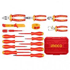 Набор диэлектрического инструмента 16 шт. INGCO HKITH1601