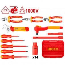 Набор диэлектрического инструмента 26 шт. INGCO HKITH2601