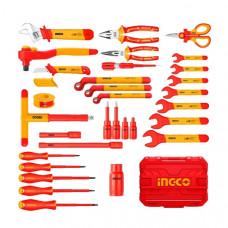 Набор диэлектрического инструмента 41 шт. INGCO HKITH4101 INDUSTRIAL
