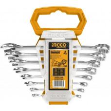 Набор комбинированных гаечных ключей INGCO HKSPA1088-I
