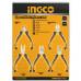 Набор миниплоскогубцев INGCO HMPS01115
