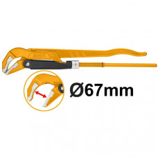 Трубный рычажный ключ 67 мм INGCO HPW04023