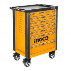 Инструментальная тележка с набором инструментов 162 шт. INGCO HTCS271621 INDUSTRIAL