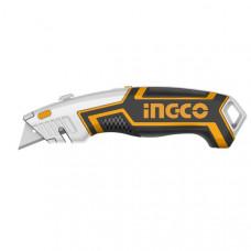 Нож универсальный SK5 INGCO HUK618 INDUSTRIAL