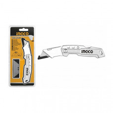 Нож складной универсальный SK5 INGCO HUK6138