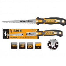 Ножовка по гипсокартону 150 мм INGCO HWBSW628C