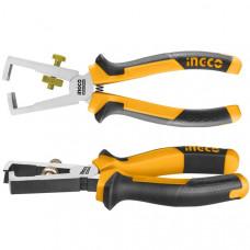 Плоскогубцы для зачистки проводов 160 мм INGCO HWSP28160 INDUSTRIAL