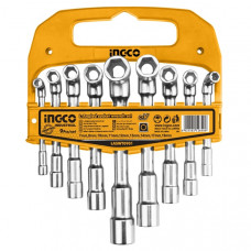 Набор торцевых ключей INGCO LASWT0901 INDUSTRIAL