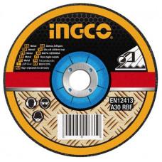 Абразивный отрезной диск по металлу 125 мм INGCO MCD301251