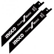 Набор пильных полотен для сабельной пилы INGCO SSB922EF