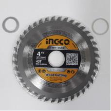 Пильный диск по дереву 115 мм INGCO TSB111555