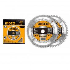 Пильный диск по дереву 2 шт. 185 мм INGCO TSB118510