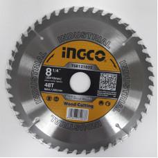 Пильный диск по дереву 210 мм INGCO TSB121022