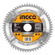 Пильный диск по дереву 235 мм INGCO TSB123523