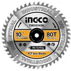 Пильный диск по алюминию 254 мм INGCO TSB325428