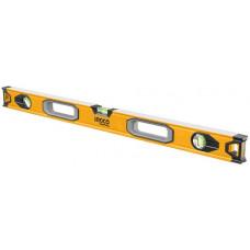 Строительный алюминиевый уровень 120 см INGCO HSL08120 INDUSTRIAL